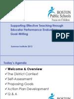 200 - Educator Performance Eval - Goal Writing v3.3