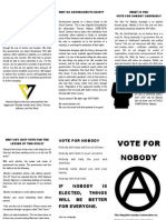 Vote for Nobody Flyer 2