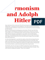 Mormonism and Adolph Hitler