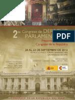 2do. Congreso de Derecho Parlamentario