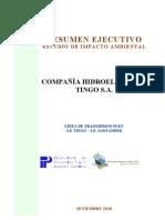COMPAÑIA ELECTRICA TINGO