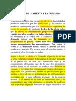 0001 Ley de La Oferta y La Demanda Completa