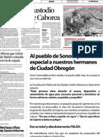 06-09-12 Cano Vélez rechaza cifras de sexto informe