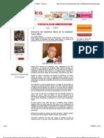 06-09-12 Discurso de Calderón dista de la realidad