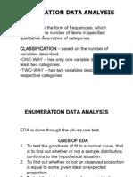 Enumeration Data Analysis