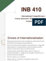 INB 410 Lecture