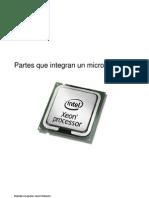Partes Que Integran Un Micro Procesador