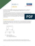 JAU20-11 Ammeters and Shunts