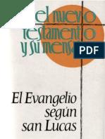 Stoger, Alois - El Evangelio Segun San Lucas 01