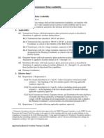 NERC Line Loadbility Standard PRC-023-1