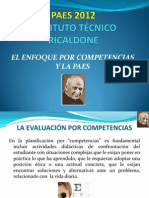 El Enfoque Por Competencias y La Paes