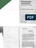 Orientacion Vocacional La Estrategia Clinica Bohoslavsky Rodolfo
