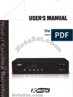 Kbox Prodigy user Manual ZetaSat.com