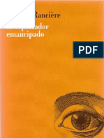 Jacques-Ranciere El Espectador Emancipado Copy