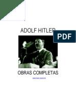 Adolf Hitler Obras Completas