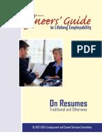 Engineer's Guide Resumes