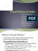 Fiscal Policy of India_almost Final