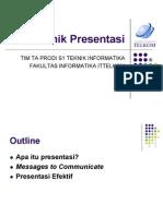 07 Teknik Presentasi