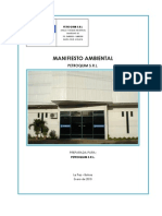 Manifiesto Ambiental Petroquimica