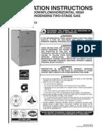 Rheem Furnace Installation Manual(1)
