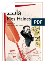 Zola - Mes Haines