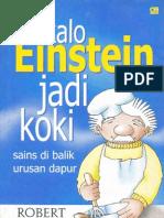 Kalo Einstein Jadi Koki