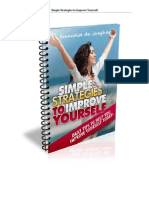 Simple Strategies to Improve Yourself