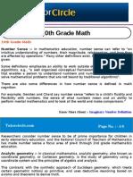 10th Grade Math