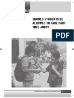 4. Should Students Be Allowed to Take Part Time Jobs