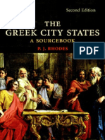 P. J. RHODES - The Greek City States [a Sourcebook]
