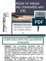 Topic-8 Difference Between Indian Accounting Standards and Ifrs