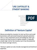 'Venture Capital' & Investment Banking
