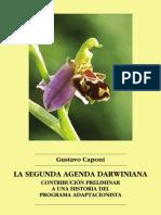 Gustavo Caponi 2011 La Segunda Agenda Darwiniana