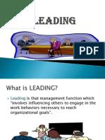 Engineering Management - 8. LEADING