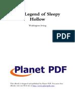 The Legend of Sleepy Hollow T
