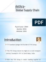 TVS Logistics-Building a Global Supply Chain- Group 7