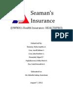 Health Care - Seaman_s Insurance