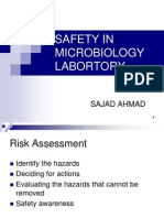 Safety in Microbiology