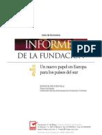 Un nuevo papel en Europa para los países del sur - ENRIQUE NEGUERUELA
