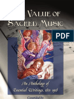 The Value of Sacred Music