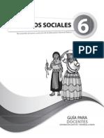 Guia Sociales Sexto Ano