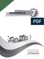 Cuaderno Matematica Septimo Ano