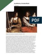 Alegoría de la pintura y la escultura