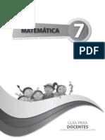 Guia Matematica Septimo Ano