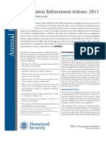 DHS Annual Report Enforcement Actions Sept 2012