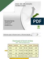 TECNOLOGIA DE APLICAÇÃO DE AGROTÓXICOS