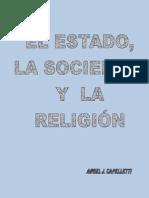 EL ESTADO, LA SOCIEDAD Y LA RELIGIÓN