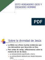 Jesucristo Verdadero Dios y Verdadero Hombre
