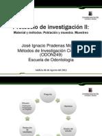 Clase Protocolo de investigación 2