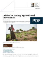 Africa's Coming Agricultural Revolution - International - The Atlantic